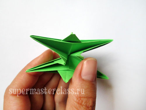 How to make origami star out of paper