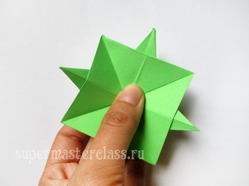 How to make origami star origami