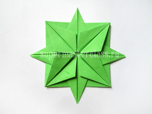 Origami for beginners: star