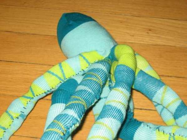 Octopus from sock-5