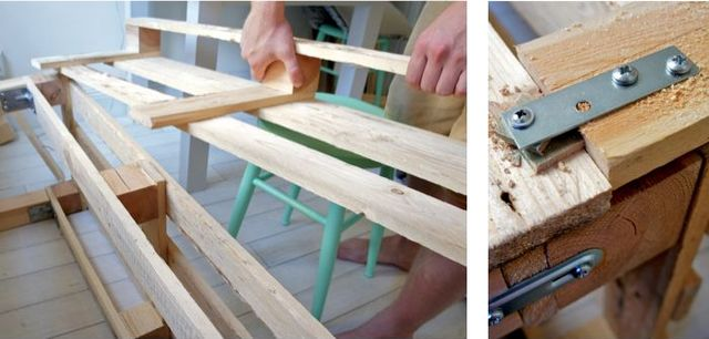 master class bench yourself with pallets