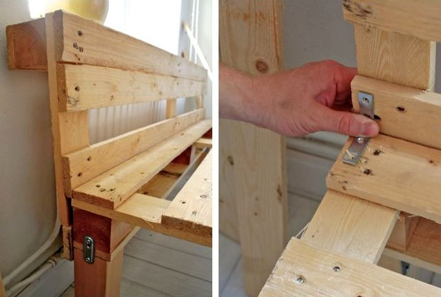 master class how to make a bench of pallets