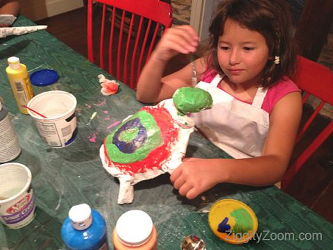 Papier mache with his own hands ideas. Master class for children.