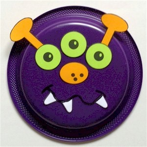 Paper-plate-monster-craft