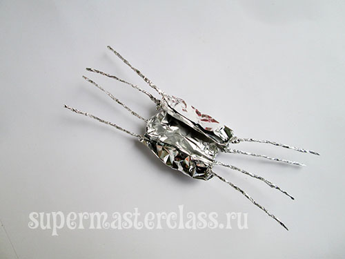 Ready Foil Spider Paws