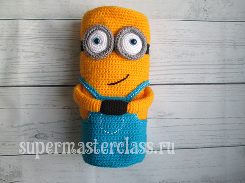 Crochet Knitted Minion