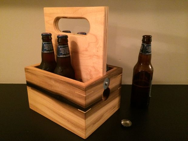 Portable box for beer