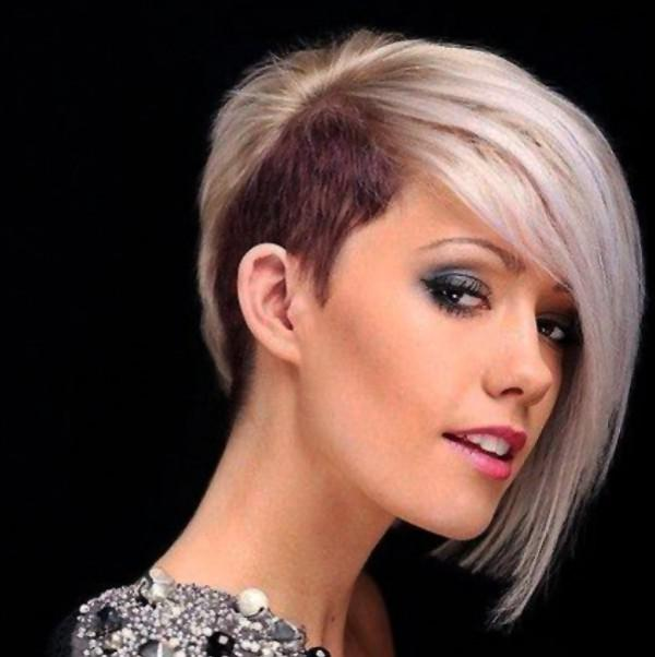 Modern short haircuts. Photo Number 9