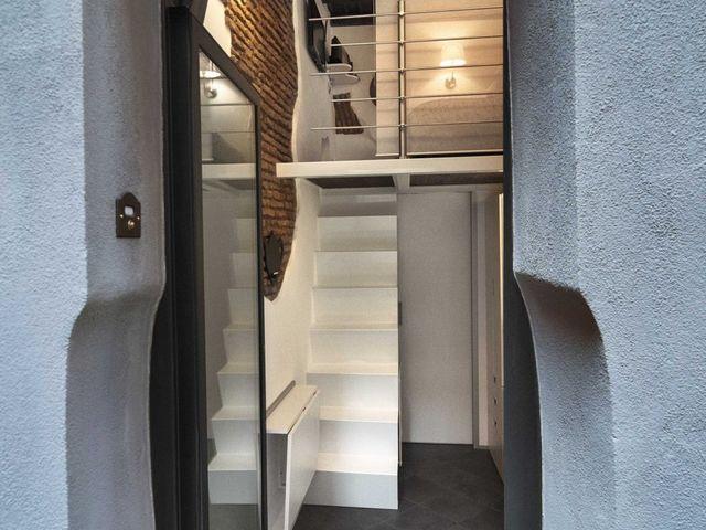 най-малкият апартамент в Италия 7 кв м, вход