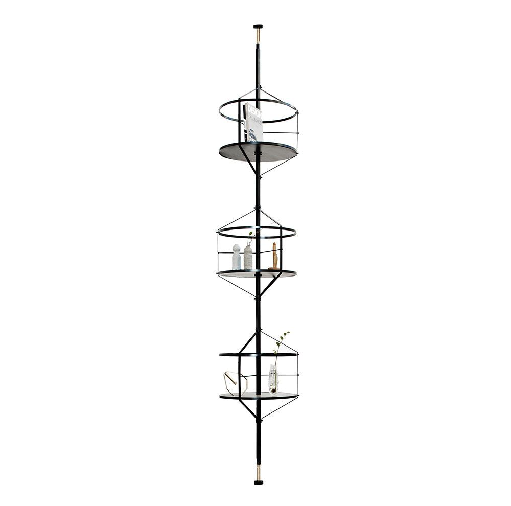 Round vertical shelves Voliera from Pietro Russo