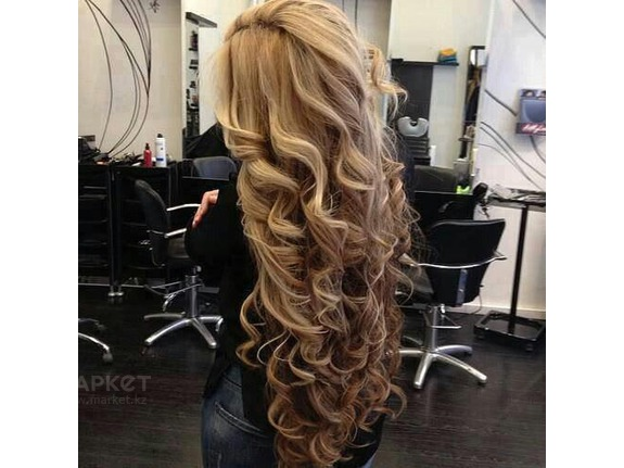 Hairstyles with false strands. Photo №8