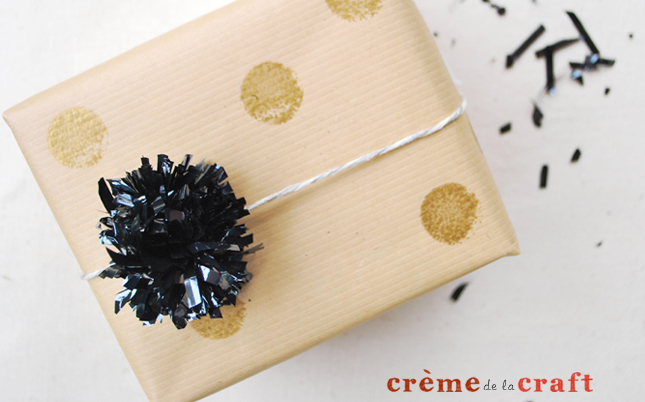 From unnecessary audio and video cassettes, you can create cute bows used for gift wrapping. How to do it - look on the site.