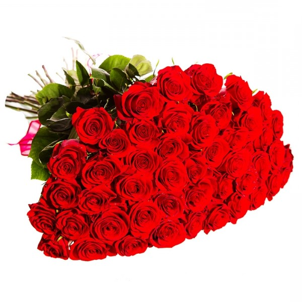 Bouquet of roses for Valentine's Day