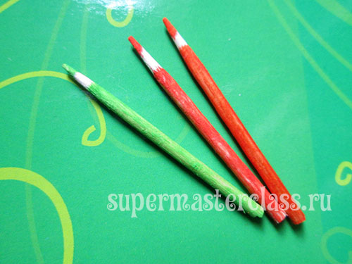 How to make pencils for dolls