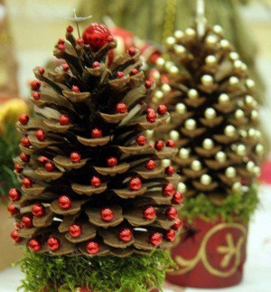 Christmas trees of cones
