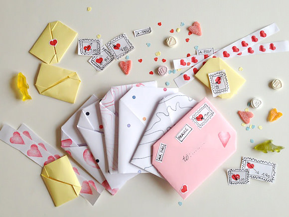 Crafts for February 14. Gift - a love letter with your own hands.
