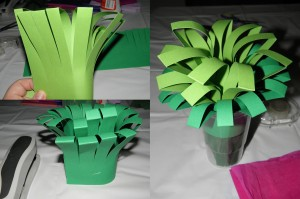 Crafts for March 8 in the kindergarten. Flowers by own hands