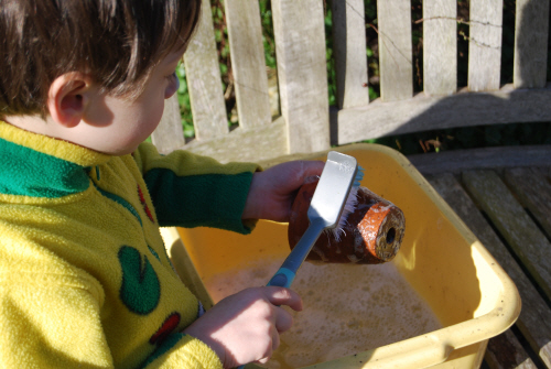 Crafts on the theme of spring with their own hands. Spring day in kindergarten (8)
