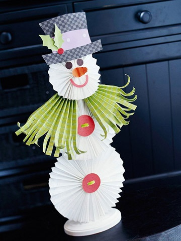 Crafts on the theme of winter