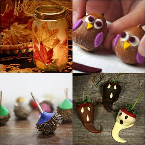 Crafts with children in the autumn (21)