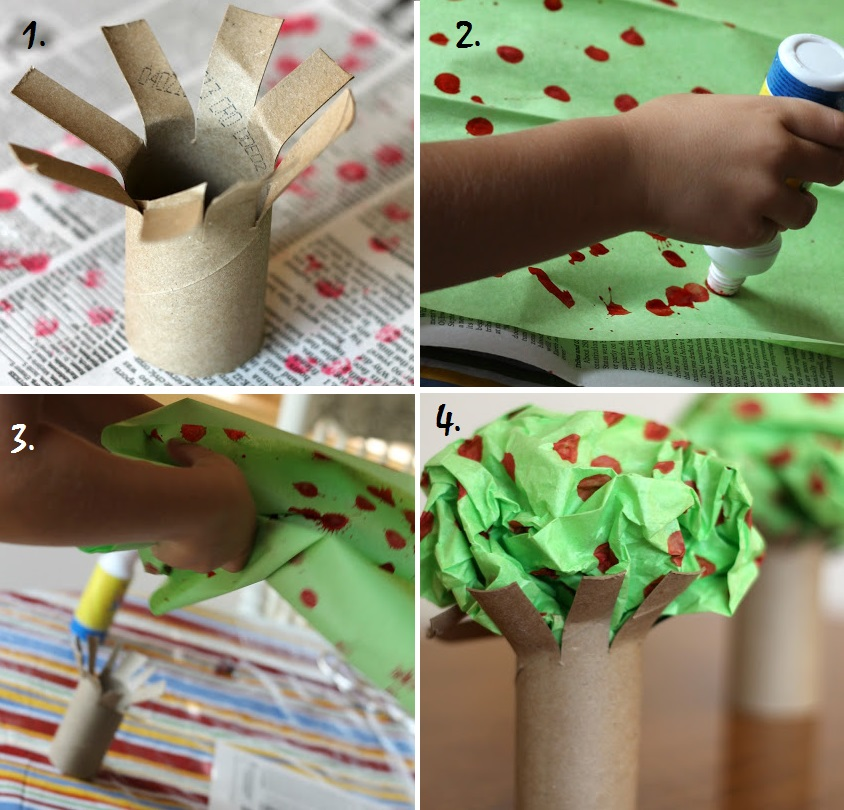 Crafts with children in 4 years