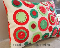 Pillows with your own hands