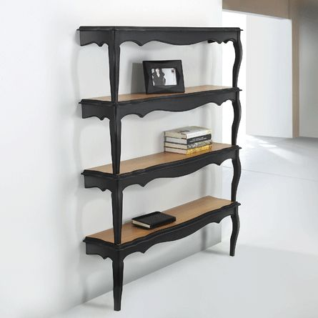shelves from old coffee tables