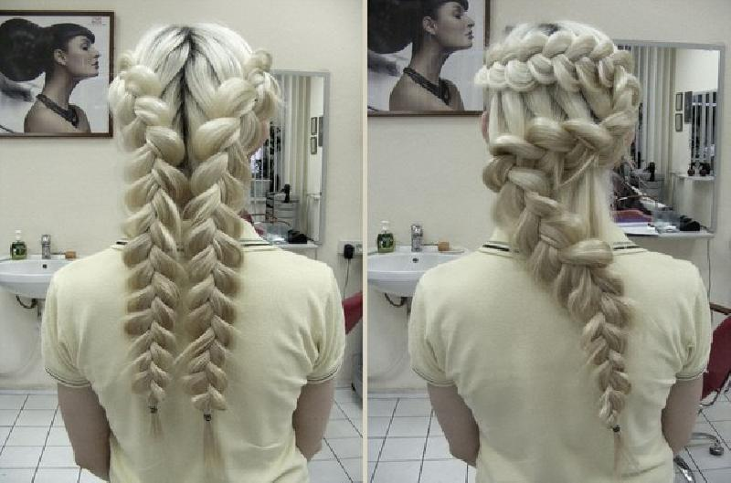 Everyday hairstyles for themselves. Picture №3