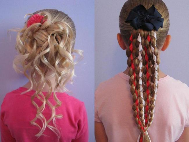 Uzun saçlı spikeletler