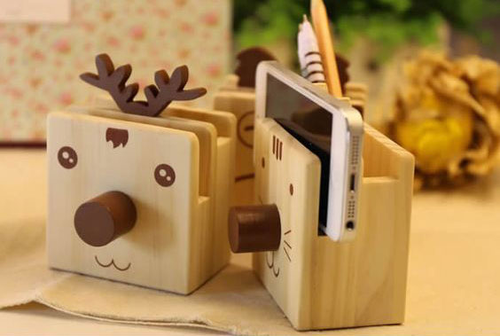 Cool wooden organizer with your own hands