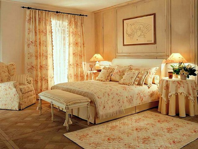 Textile most fully reveals the features of the Provence style.