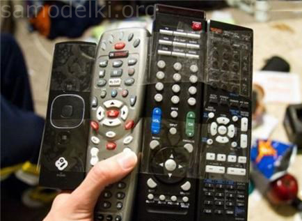 If there are many remotes from the TV