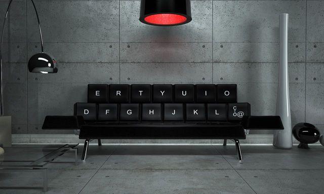 Sofa tastatur