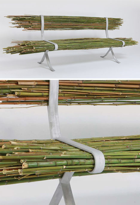 bamboo bench details