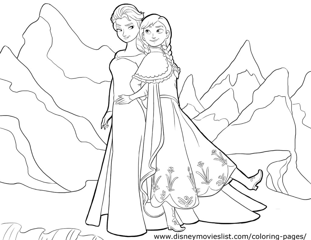 Pure girls for girls. Coloring print out free of charge A4 format.