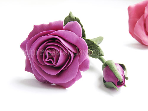 How to make a rose from plasticine