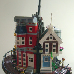 Homemade Lego in the style of Steampunk