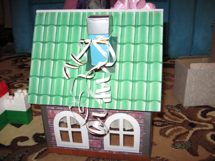 Homemade toy house
