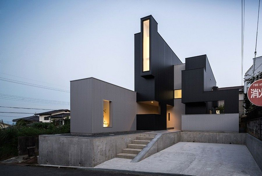 scape house house of unusual shape