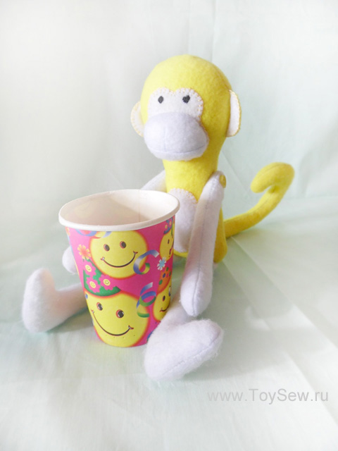 We sew monkey from fabric-41