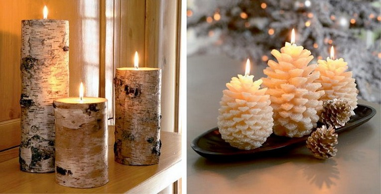 How to decorate a windowsill with candles: cozy lighting