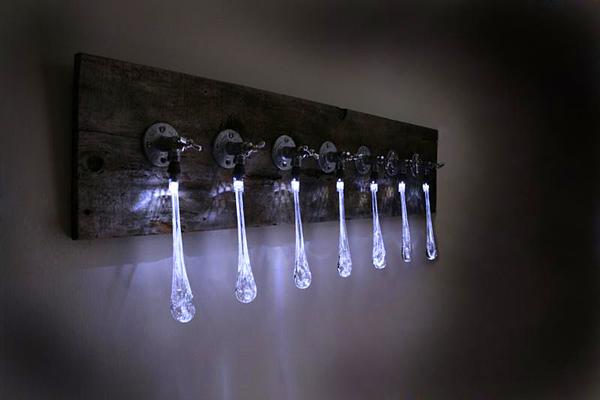 стена монтирани LED светлината течност светлина