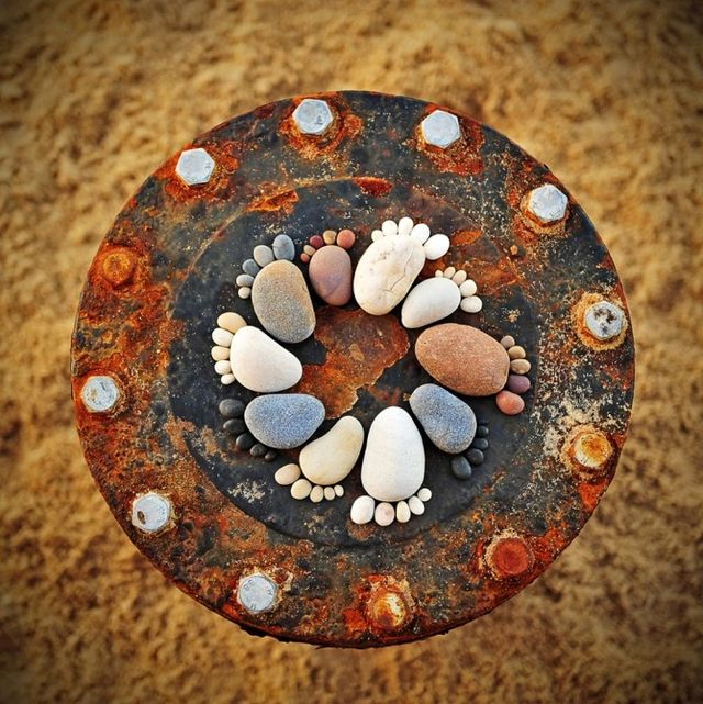 pebble decor