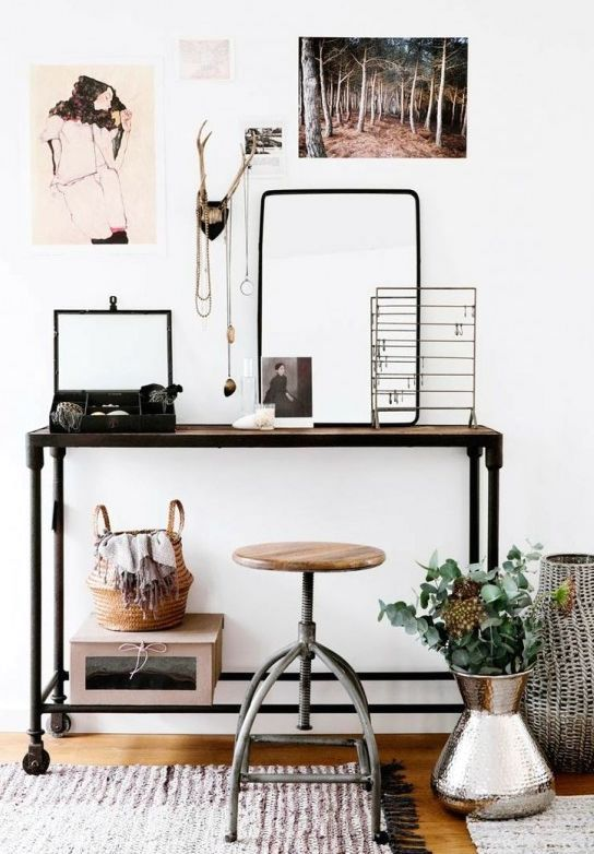 Industrial tables - dressing table
