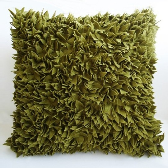 decorative pillow Green Grass, Sukan Art
