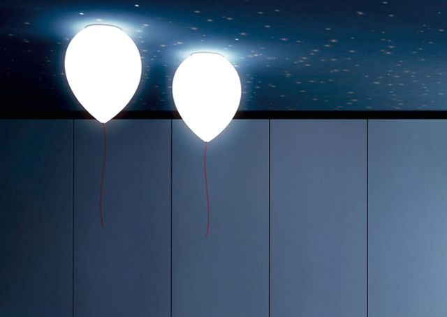 ceiling lamps in the form of balloons