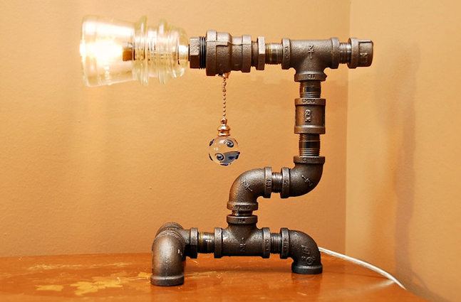 Поделки из водопроводных труб 109