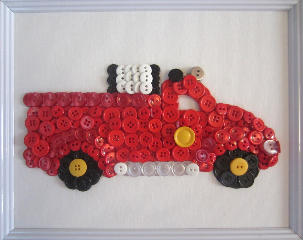 by own hands Crafts with children 3 - 4 years. Learning transport (19)