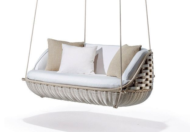hanging swing for the living room in the open air