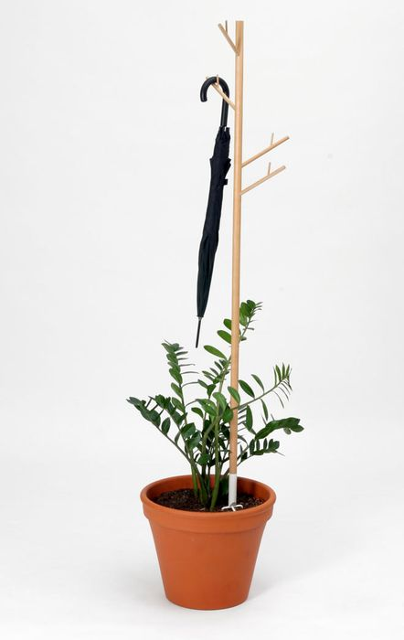 Hanger rek met waterplanten